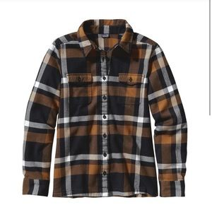 Patagonia Womens Long Sleeved Fjord Flannel Shirt
